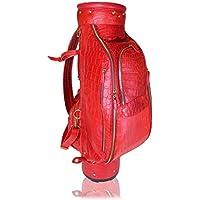 Terrida borsa da golf in pelle di coccodrillo -