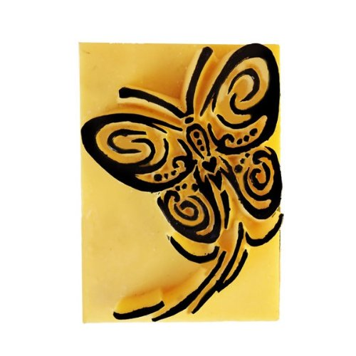 Pierre de tatouage temporaire - Papillon en vol