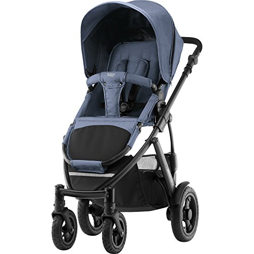 Britax Smile 2 Kinderwagen, Kollektion 2018, blue denim