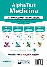 Alpha Test. Medicina. Kit completo di preparazione: Manuale di preparazione-Esercizi commentati-Prove di verif