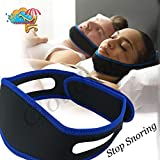 Cloudmart Anti Snore Chin Strap Snore Reduction System (Multicolour)