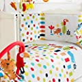 Red Kite - Cosi Cot - 5 Piece Bedding Set - Safari - low-cost UK bedding store.