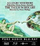 Allegri: Miserere [The Tallis Scholars] [Gimell: GIMBD641] [Pure Audio Blu-Ray]