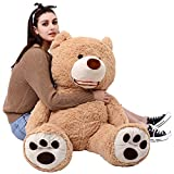 MorisMos Giant Huge Teddy Bear XXL Soft Plush toys Dolls Brown 100cm /39 ""