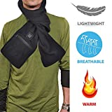 awhao-123 Écharpe chauffante électrique, hommes et femmes avec poches pour les mains USB Écharpe chauffante électrique Wraps chauffants pour cou cervical de vertèbre chauffe pour des new product