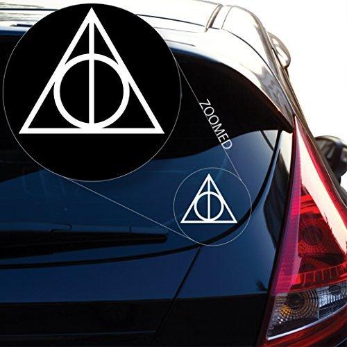 Heiligtümer des Todes Inspiriert Harry Potter Aufkleber Aufkleber für Auto, Fenster, Laptop und mehr. # 467