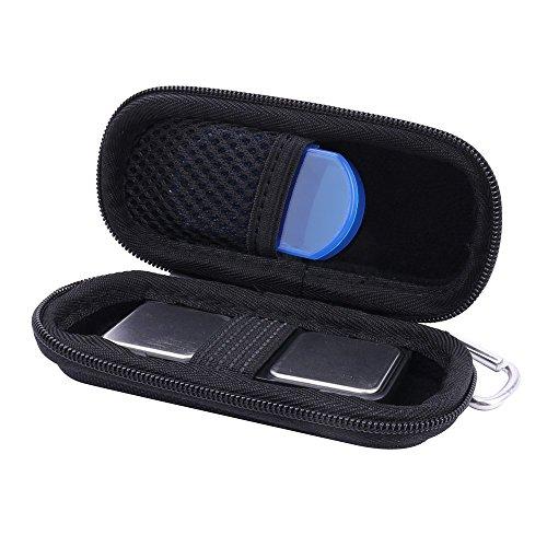 für AliveCor Kardia Mobile AliveCor EKG/ECG Moniter Hart Tasche Hülle von Aenllosi (schwarz)
