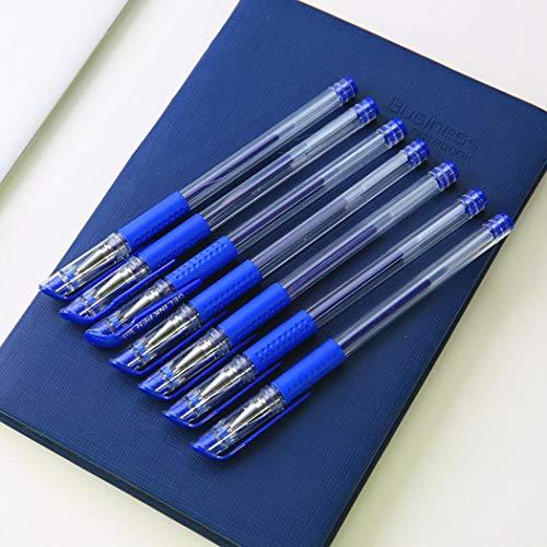 Kloius 10pc Stylo gel - 0.5mm - Bleu