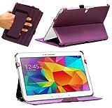 PRIX CHOC housse étui pour Samsung Galaxy Tab 4 Tablette tactile 10' (Violet)