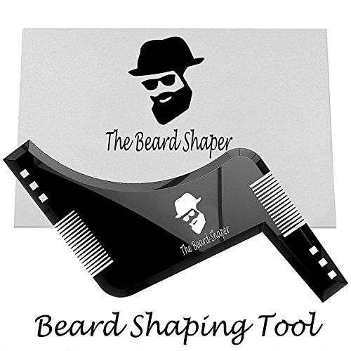 Der Bart Shaper–Bart Gestaltung Werkzeug, die Bart Shaper Vorlage zu Stylen Ihre Bart Perfektion mit Amazing Perfekte Linien und Symmetrie