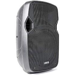 """Vonyx AP1000ABT MP3 • Enceinte Sono Active High End 10"""" • Bluetooth • Ampli 400W intégré avec Filtre • Port USB et Emplacement SD • Impédance 8 Ohm • Réponse en fréquence 55 Hz - 18 kHz"""