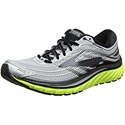 Brooks Glycerin 15, Zapatillas de Running para Hombre, (Silver/Black/Nightlife 1d035), 45.5 EU