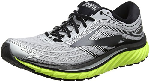 Brooks Glycerin 15, Scarpe da Running Uomo, (Silver/Black/Nightlife 1D035), 44 EU