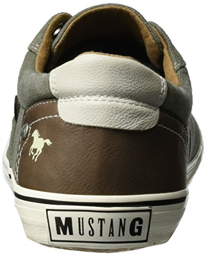 Mustang 4101-301-777 Scarpe Da Ginnastica Basse Uomo Verde khaki