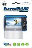 3x Olympus Tough TG 630ihs IHS Kamera Premium Clear LCD displayschutzfolie Cover Guard Shield Film Kits., exakte Passf