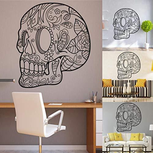 Roiper Halloween Sticker Mural Salon Chambre Arrière Plan De Haute Qualité  Halloween Squelette Fond Décoré