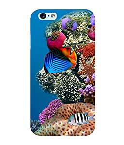 Printtech Fish Ocean Coral Shockproof Back Case Cover for Apple iphone 6/6s