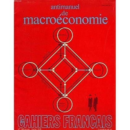 Antimanuel de macroeconomie - cahiers francais - n°189