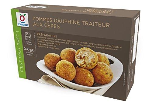 TOUPARGEL - Pommes Dauphine traiteur aux cèpes - 300 g - Surgelé