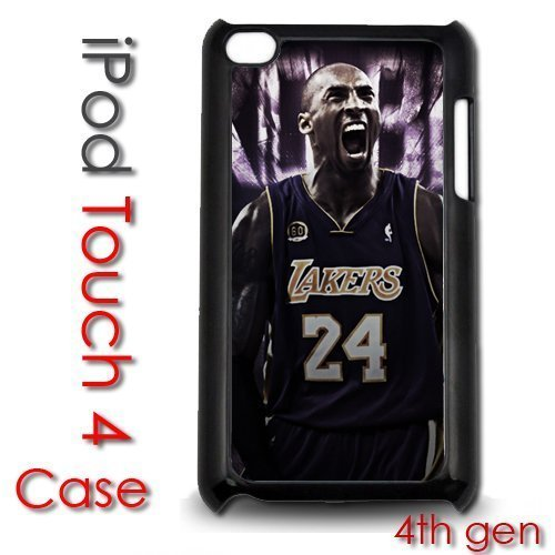 IPod Touch 4 4th gen Touch Plastic Case - Kobe Bryant Lakers 24 Champs Gen Case Ipod