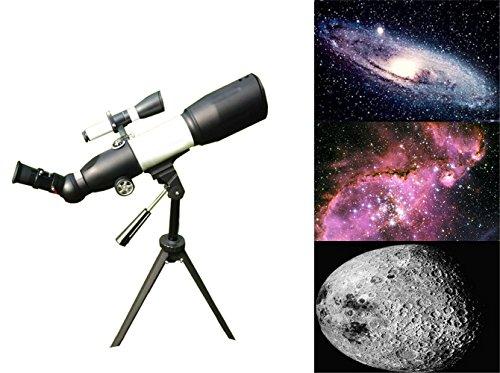 g-anica ® Teleskop Desktop-Astronomische, 116x Teleskop Desktop-Refraktor Teleskop, 350x 50mm–für die Astronomen Anfänger und Jugendliche Beobachtung der Etoiles Mond oiseaux- Détect