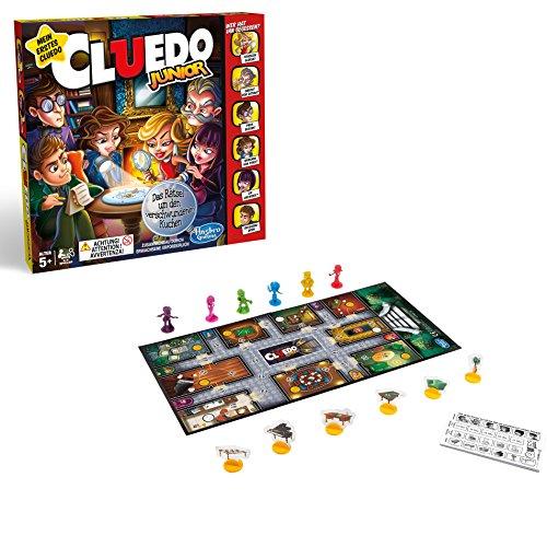 Hasbro Spiele C1293100 - Cluedo Junior, Familienspiel