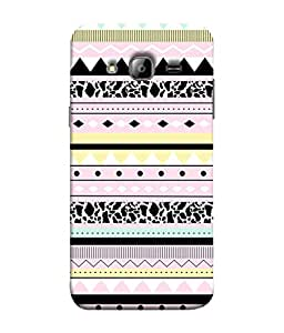 Samsung Galaxy On5 (2015), Samsung Galaxy On 5 G500Fy (2015) Back Cover Multi Colour Tribal Pattern Design From FUSON