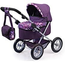 Bayer Design - Cochecito de muñeca, Trendy, color lila (13094AA)