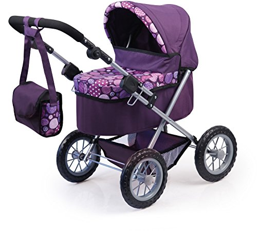 Bayer Design Cochecito de muñeca, Trendy, color lila (13094AA)