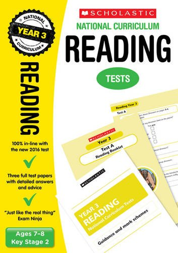 Reading Test - Year 3 (National Curriculum SATs Tests)