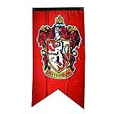 125*75cm Gryffindor Banner Flagge FAHNE XXL WAND HANGING DEKO für Harry Potter