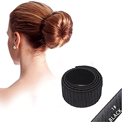 NALATI Wig Hairdisk Bun Maker/Hair Donut/Hair Bun French Donut Hair Piece Bob Maker Hair Tool ¡­