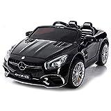 giordano shop Macchina Elettrica per Bambini 2 posti 12V MP4 Mercedes SL65...