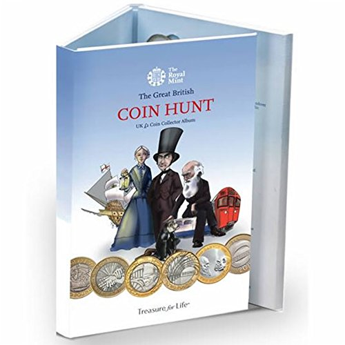 the-standard-edition-new-royal-mint-2-two-pound-great-british-coin-hunt-collector-album-folder-now-w