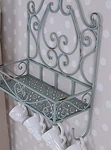 florentinisches wandregal handtuchhalter shabby chic retro antik palazzo exclusiv. Black Bedroom Furniture Sets. Home Design Ideas