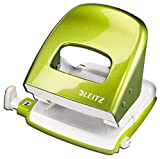 Leitz 5008 NeXXt Series Bürolocher, Metall, bis zu 30 Blatt (grün metallic)