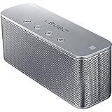 Samsung Original Level Box Mini Wireless Bluetooth NFC Lautsprecher Kompatibel mit iPhone, iPad, iPod, Smartphone, Tablet und MP3 Player - Silber
