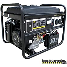 GENERADOR INDOOSTRIAL DOOS.7K.POWERE | 5.500 W | Arranque eléctrico | Regulación del voltaje mediante AVR