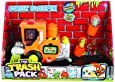 Giochi Preziosi 70217221 - Trash Pack Nummer 2 Kehrmaschine mit 2 Trash-Monstern