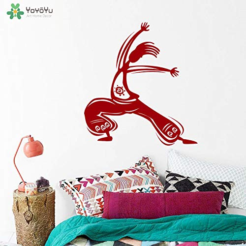 zhuziji Yoyoyu Wandtattoo Yoga Studia Vinyl Wandaufkleber Namaste Spezielle Design Meditation Abnehmbare Art Decor r Accessori 57x62 cm