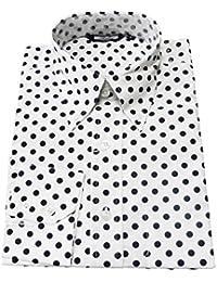Amazon.co.uk: Polka Dot - Shirts / Men: Clothing