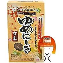 Yume Nishiki Súper Premium de Brown arroz de sushi (1 kg)