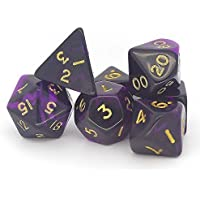 Oblivion Purple Set (dice0137) by Poly Dice Sets
