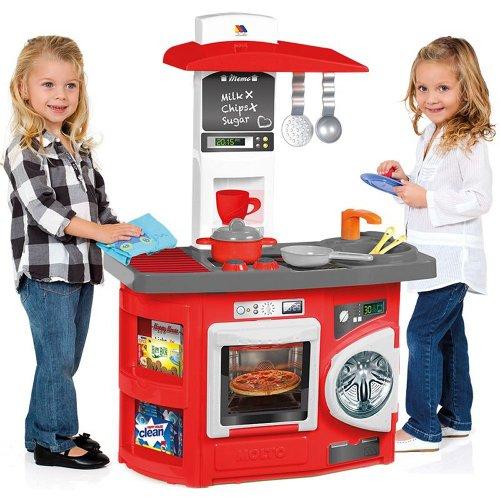 Moltó Cocina de juguete nueva con horno y lavadora (13154)