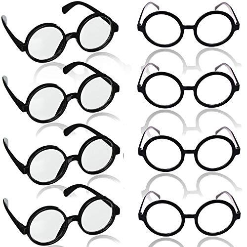 German Trendseller® - 1 x Brille - Zauberer - Wizard - Deluxe Design Brille ┃ Hexer Accessoire ┃ Fasching Karneval Kostüm ┃ Magier ┃ 1 Brille