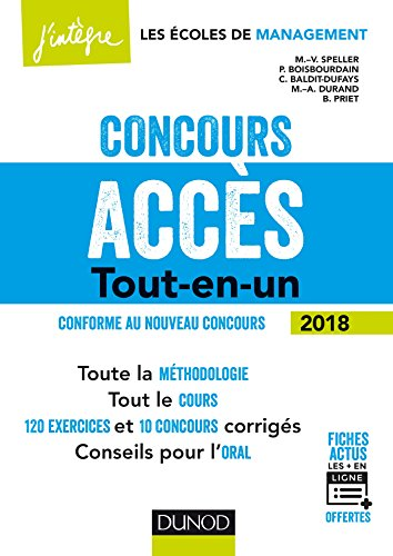 Concours Accs - 5e d. - Tout-en-un