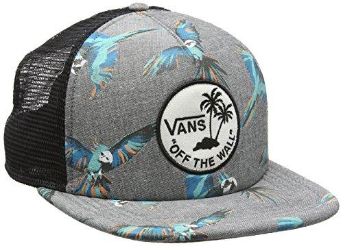 Vans - Surf Patch Trucker, Berretto da baseball Uomo, Grigio