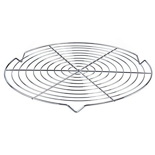 Westmark Kuchenauskühler/Kuchengitter, Rund, Ø 31,7 cm, Stahl, Verchromt, Silber, 31442270