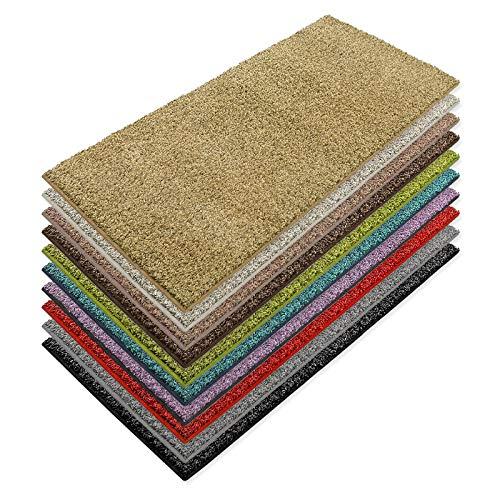 casa pura Teppich Läufer Luxury | Moderne Shaggy Optik mit flauschigem Hochflor | Teppichläufer in vielen Farben für Flur, Schlafzimmer, Wohnzimmer etc. | viele Breiten und Längen (66 x 100cm, gelb)