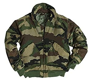 Blouson Aviateur Style Cwu Us Bombers Camouflage Cce Centre Europe Miltec 10404524-l Airsoft Militaire Armee Pilote Bombardier